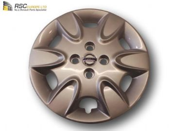 NEW NISSAN MICRA 2012 WHEEL COVER / TRIM IN SILVER 40315BG00B